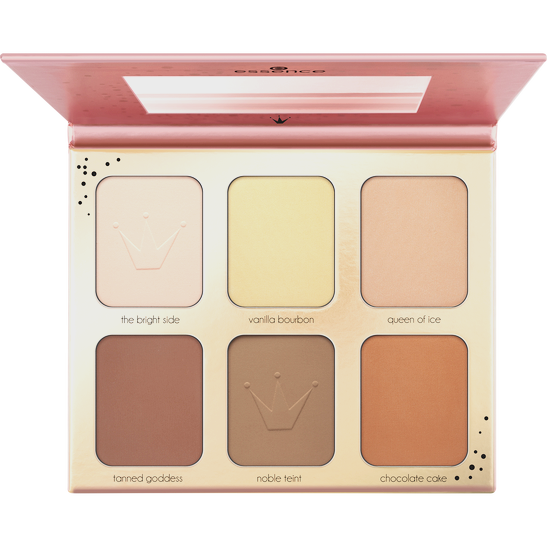 Royal Party Oh my contour! contouring palette  Produktbild productfrontviewfullopen L