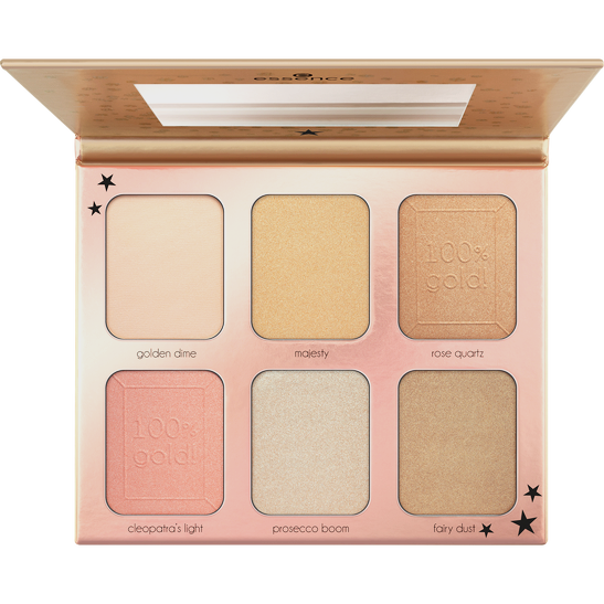 Royal Party You are gold! highlighter palette  Produktbild productfrontviewfullopen L