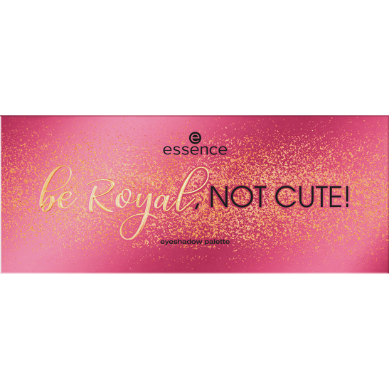 Royal Party Be Royal, not cute! eyeshadow palette  Produktbild productfrontviewclosed L