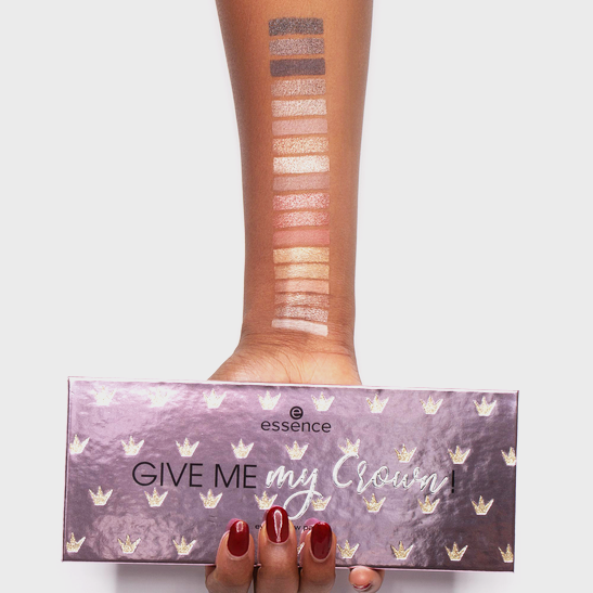 Royal Party Give me my crown! eyeshadow palette Produktbild swatchdark L