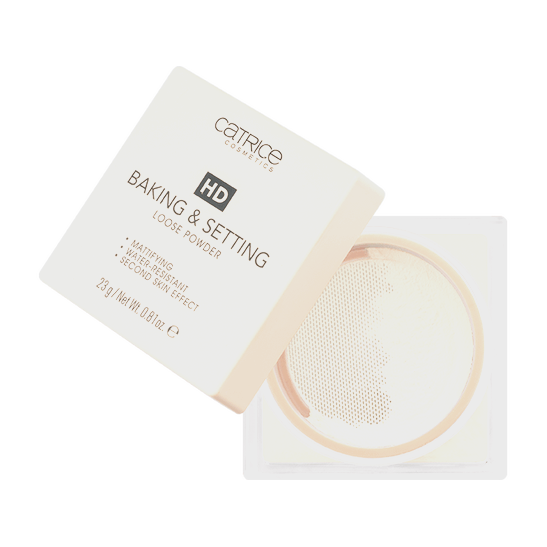 HD Baking & Setting Loose Powder Produktbild productfrontviewfullopen L