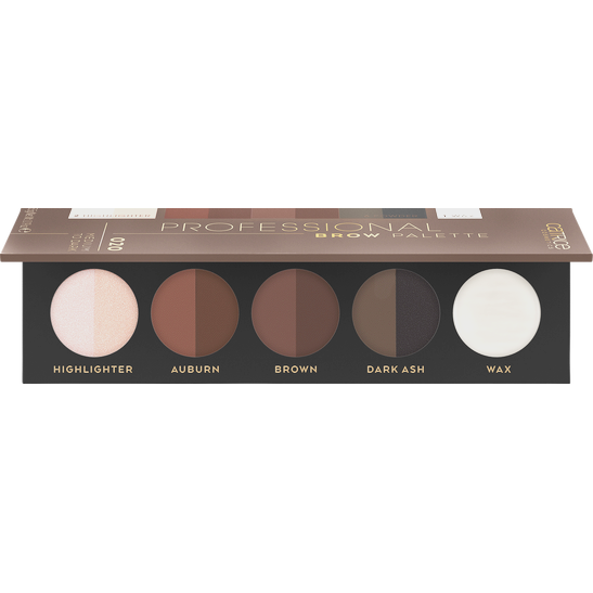 Professional Brow Palette Produktbild productfrontviewhalfopen L