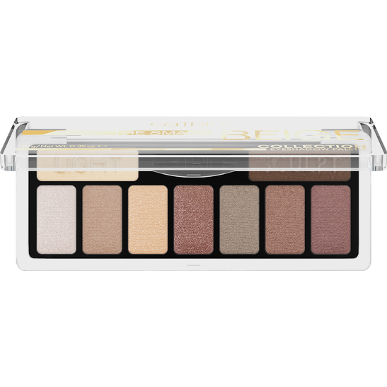 The Smart Beige Collection Eyeshadow Palette Produktbild productfrontviewhalfopen L