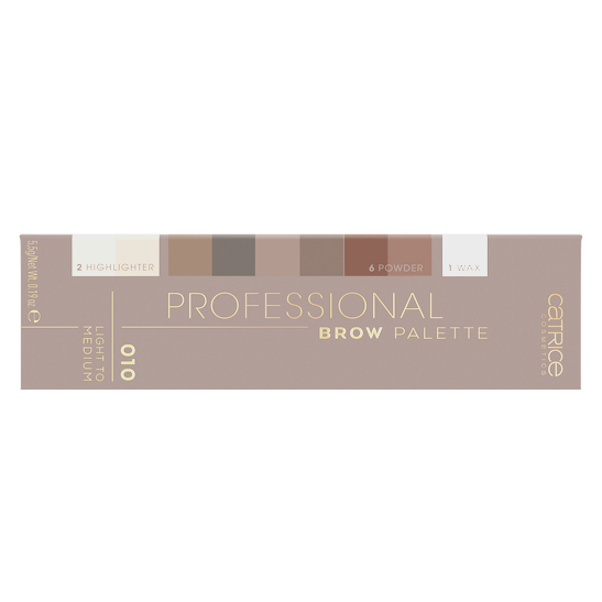 Professional Brow Palette Produktbild productfrontviewclosed L