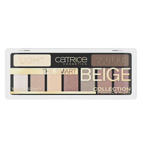 The Smart Beige Collection Eyeshadow Palette Produktbild productfrontviewclosed L