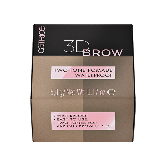 3D Brow Two-Tone Pomade Waterproof Produktbild productouterpackagingclosed L