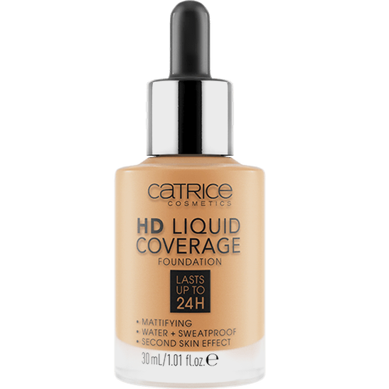 HD Liquid Coverage Foundation Produktbild productfrontviewclosed L