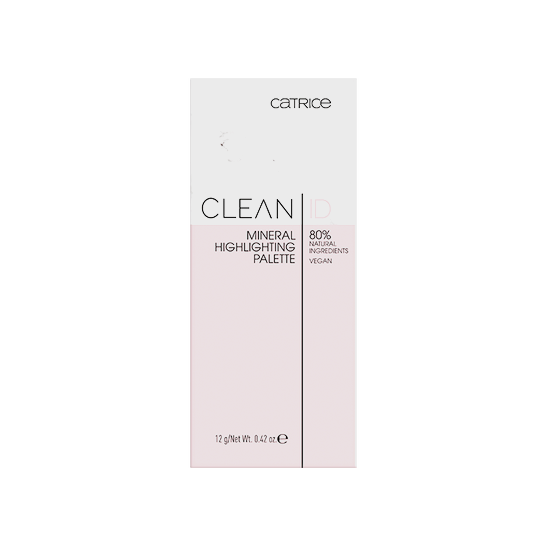 Clean ID Mineral Highlighting Palette Produktbild productfrontviewclosed L