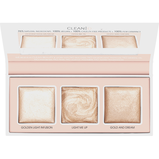 Clean ID Mineral Highlighting Palette Produktbild productfrontviewfullopen L
