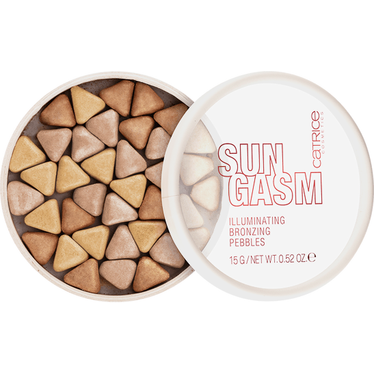 SUNGASM Illuminating Bronzing Pebbles Produktbild productfrontviewhalfopen L