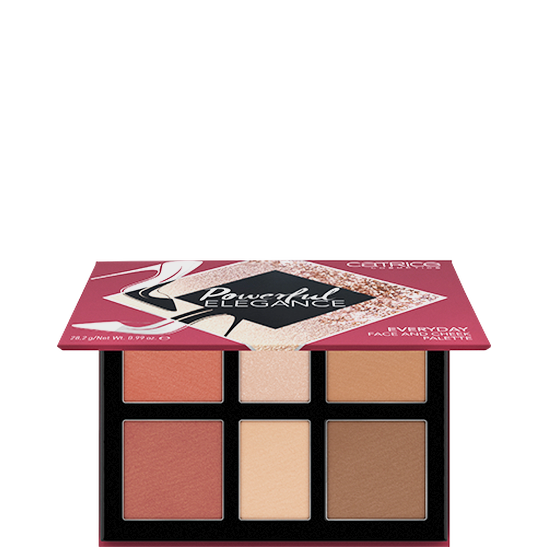 Powerful Elegance Everyday Face And Cheek Palette Produktbild productfrontviewhalfopen L