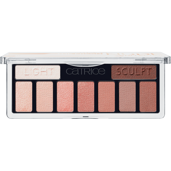 The Fresh Nude Collection Eyeshadow Palette Produktbild productfrontviewfullopen L