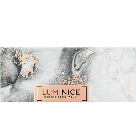 Luminice Highlight & Blush Glow Palette Produktbild productfrontviewclosed L
