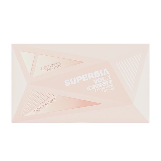 Superbia Vol. I Warm Copper Eyeshadow Edition Produktbild productfrontviewclosed L