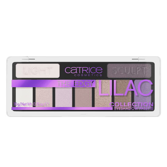 The Edgy Lilac Collection Eyeshadow Palette Produktbild productfrontviewclosed L