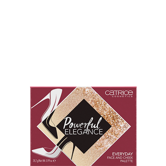 Powerful Elegance Everyday Face And Cheek Palette Produktbild productfrontviewclosed L
