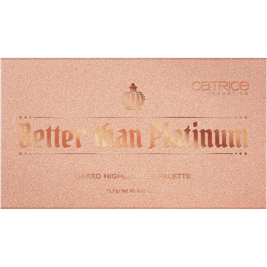 Royal Party Better Than Platinum Baked Highlighter Palette Produktbild productfrontviewclosed L