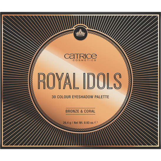 Royal Party Royal Idols 30 Colour Eyeshadow Palette Produktbild productfrontviewclosed L