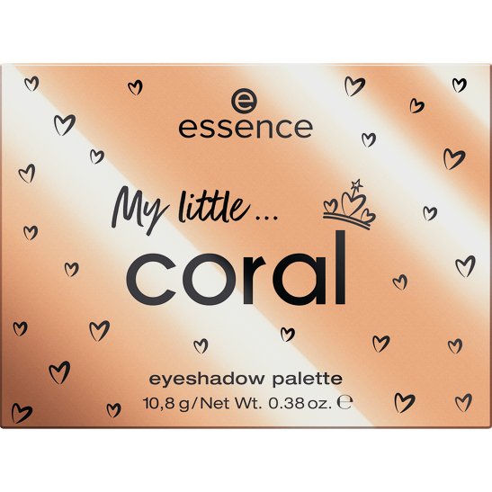 Royal Party INT My little coral eyeshadow palette Produktbild productfrontviewclosed L