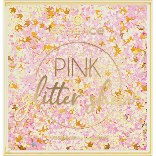 Royal Party Pink glitter show eyeshadow palette  Produktbild productfrontviewclosed L