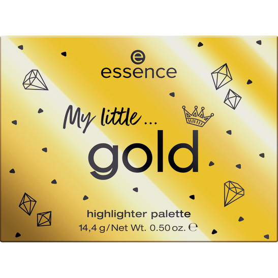 Royal Party INT My little gold highlighter palette Produktbild productfrontviewclosed L