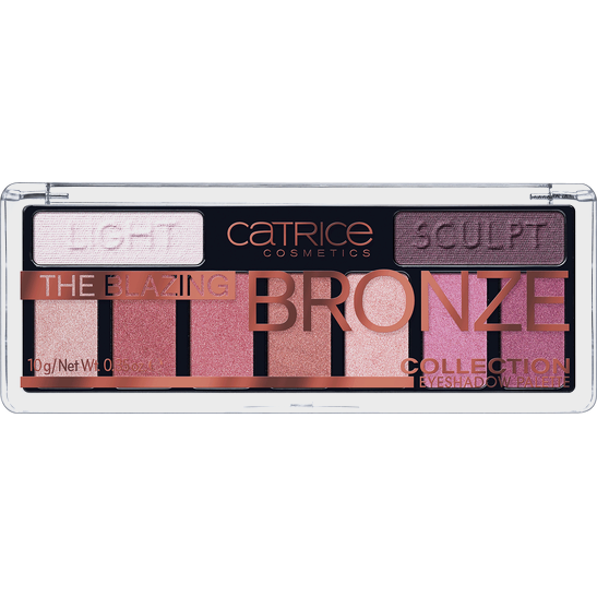 The Blazing Bronze Collection Eyeshadow Palette Produktbild productfrontviewclosed L