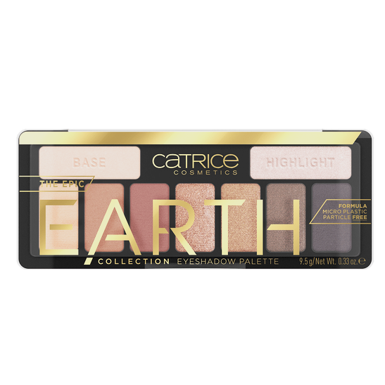 The Epic Earth Collection Eyeshadow Palette Produktbild productfrontviewclosed L