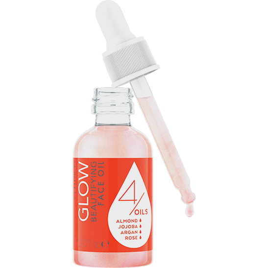 Glow Beautifying Face Oil Produktbild productfrontviewfullopen L