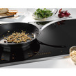 KM 6629 Induction hob with onset controls product photo Laydowns Back View S