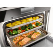 DGG 20 Unperforated steam cooking container product photo Laydowns Back View S