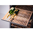 KWT 6833 SG Freestanding wine conditioning unit product photo Laydowns Back View S