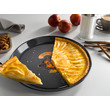HBFL 27-1 Round baking tray - Nostalgic logo product photo Laydowns Back View S