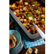 HUB 5000-M Gourmet casserole dish product photo Laydowns Back View S