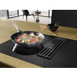 KMDA 7774 FL Cooktop with integrated extractor product photo Back View S