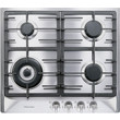 KM 362-1 G Stainless Steel Gas Cooktop product photo