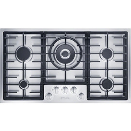 KM 2354 G Stainless Steel Gas Cooktop product photo