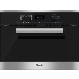 H 6400 BM CleanSteel Microwave Combination Oven product photo