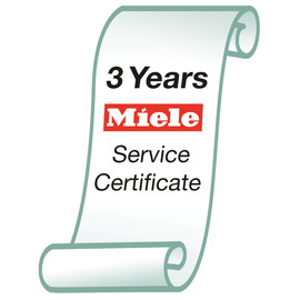 Washing Machine Miele Service Certificate product photo