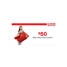 Bonus Miele for Life $50 voucher product photo