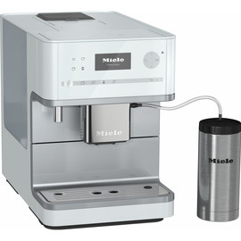 CM 6350 Benchtop Coffee Machine - Lotus White product photo