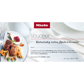 Voucher na Kulinársky večer Miele à la carte - 1 osoba product photo