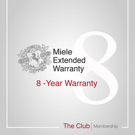 Early bird offer: 8-year warranty & Club Membership product photo