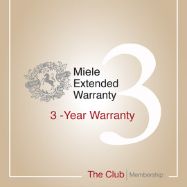 Early bird offer: 3-year warranty & Club Membership product photo