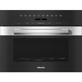 M 7244 TC PureLine CleanSteel Built-in Microwave oven product photo