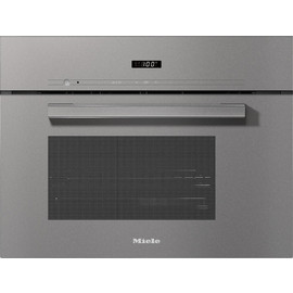 DG 2840 VitroLine Graphite Grey Built-in Steam oven product photo