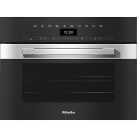 DGC 7440 XL PureLine CleanSteel Steam combination oven product photo