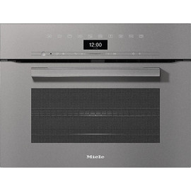 H 7440 BM VitroLine Graphite Grey Speed Oven product photo