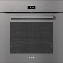 H 7464 BP VitroLine Graphite Grey Pyrolytic Oven product photo