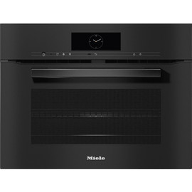 H 7840 BM VitroLine Obsidian Black Speed Oven product photo