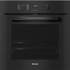 H 2860 BP VitroLine Obsidian Black Oven product photo